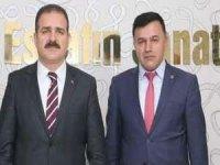 Başkan Arslan'dan Vali Akbıyık'a teşekkür