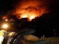 ABD Büyükelçiliği binası yakınlarına 4 füze düştü