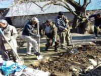 70 yıllık su değirmeni yeniden onarılıyor