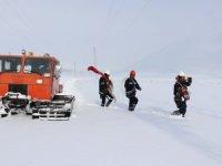 Zorlu kış şartlarını teknolojiyle aşıyorlar