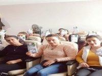 Sınırdaki kadınlara kanser eğitimi