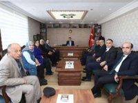 AK Parti heyetinden Kaymakam Öztürk'e ziyaret