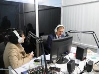 Vali Akbıyık Hakkari sesi radyosu canlı yayın konuğu oldu