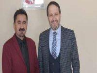 Başkan Gür'den KGK Temsilcisi Taş'a ziyaret