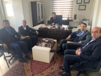 Başkan Gür'den Mimar Derman Çetin'e ziyaret