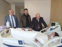 Genel Başkan Er'den minik Akar'a ziyaret