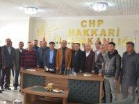 Hakkari CHP yönetim kurulunu oluşturdu