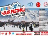 Hakkari 4. Kar festivali başlıyor