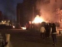 Bağdat'taki protestolara sert müdahale: 23 yaralı