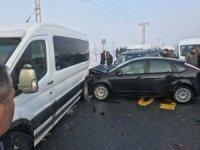 Van-Hakkari kara yolunda kaza 5 yaralı