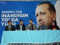 AK Parti Şemdinli İlçe Başkanlığına Şakar seçildi