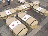 Van'a ve Ağrı'ya sahra hastaneleri gönderildi