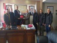 Başkan Çiftçi kurum ziyaretlerinde bulundu