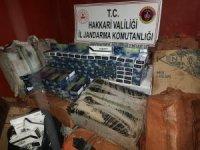 17 bin 500 paket sigara ele geçirildi
