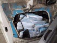 6 bin 900 adet kaçak maske ele geçirildi