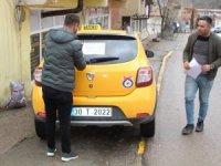 Şemdinli'deki taksicilerden örnek davranış
