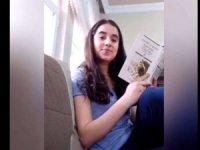 """Öğrencilerden """"Hakkari Evde Kal, Kitap Oku"""" videosu"""