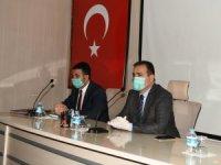 Pandemi Koordinasyon Kurulu Toplantısı yapıldı