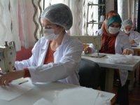 Hakkari'de günde 5 bin adet maske üretiyor
