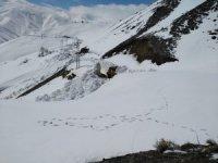 Nisan ayında 5 metre karla mücadele