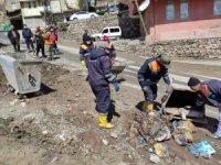 Hakkari'de genel bahar temizliği