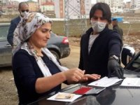 Bin TL'lik yardımlar hak sahiplerine ulaştırılıyor
