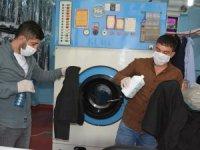 Özen kuru temizlemeden virüs önlemi