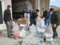 Esendere' de 500 aileye gıda yardımı yapıldı