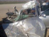 Yüksekova'da trafik kazası 1 ölü