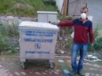 Hakkari'de çöp Konteynerleri yenilendi