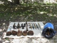 Kırıkdağ kırsalında silah, mühimat ele geçirildi