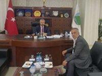 Başkan Ertuş'tan HATSO Başkanına ziyaret