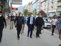 MHP'li Başkan Uslu'dan Vali Akbıyık'a ziyaret