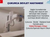 Devlet Hastanesi dijital röntgen cihazına kavuştu