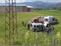 Araç şarampole yuvarlandı: 4 yaralı