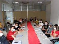 Hakkari'de antrenörlerle değerlendirme toplantısı