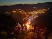 Dağcılar 3487 rakımlı Sümbül dağına tırmandı