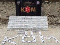 Hakkari'de 14 bin 190 paket sigara ele geçirildi