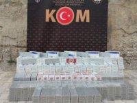 Hakkari'de 7 bin adet sigara gele geçirildi
