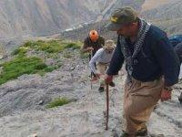 Çukurca ekibi Sümbül Dağına tırmandı