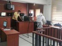 Adliye binası dezenfekten edildi