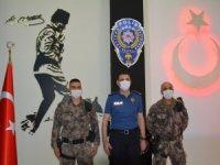 Müdür Atanur, 15 Temmuz gazilerini makamında kabul etti