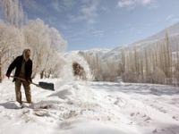 Yüksekova'dan kar manzaraları