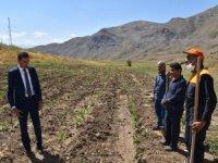 Vali Yardımcısı Kumbasar, yapılan projeleri denetledi