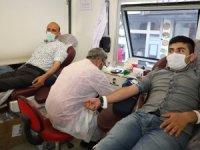 Kızılay Hakkari'de kan bağışı başlattı