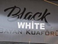 Black & white Bayan kuaförü örnek oldu