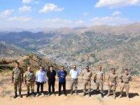 Şemdinlide başkan Saklıdan üst bölgeye ziyaret
