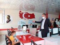Daire Başkanı Haşim Altun Hakkari'de