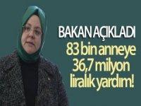 83 bin anneye 36,7 milyon lira doğum yardımı yapılacak