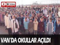 Van'da okullar açıldı